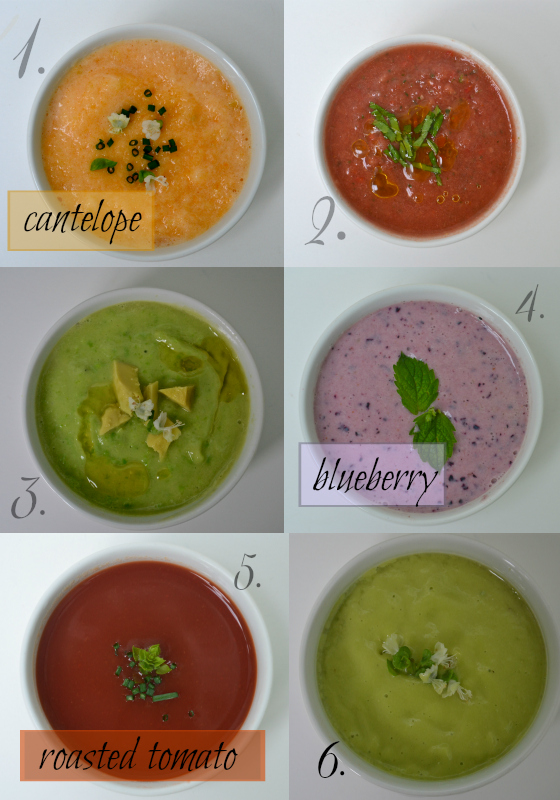 cold summer soups meatless monday
