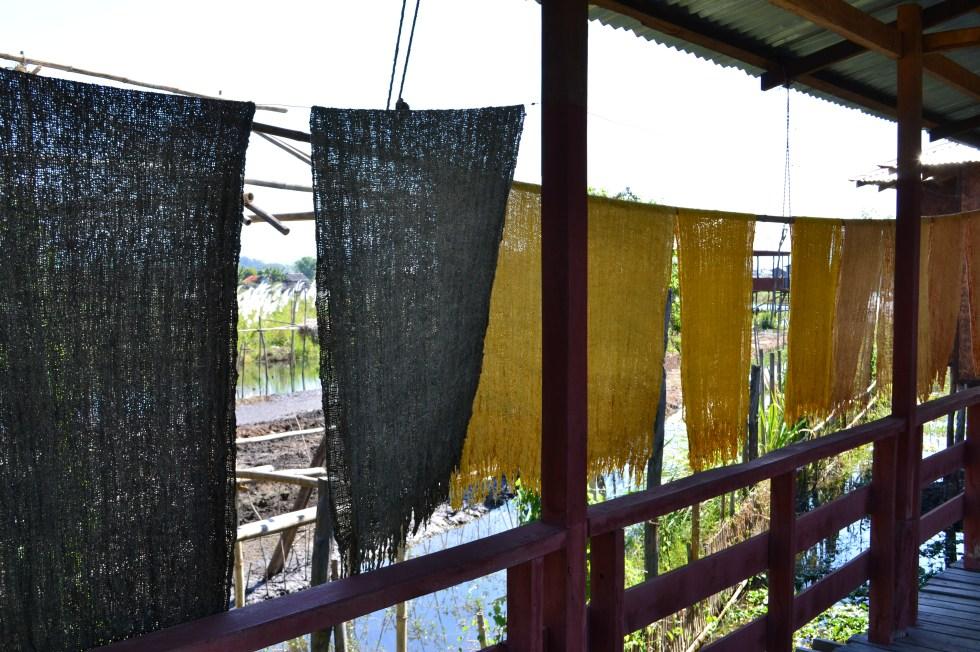 weaving inle lake burma