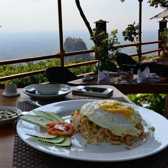 restaurant popa resort