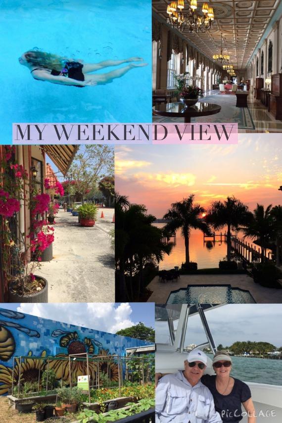 Love my weekend view