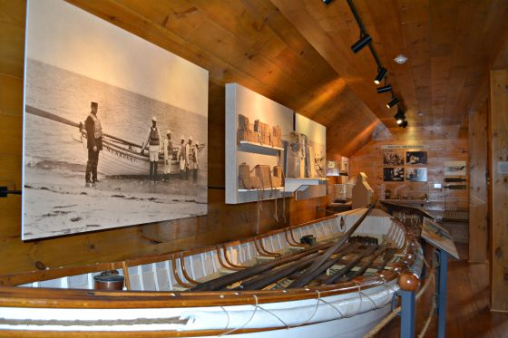 Inside the lifesaving and shipwreck museum