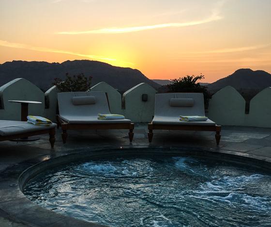 Sunset from Devi Garh