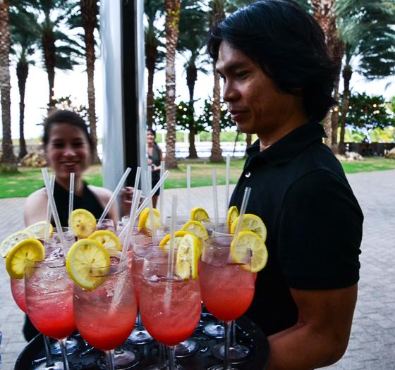 Sunset Park cocktail at Brooklyn, Camana Bay