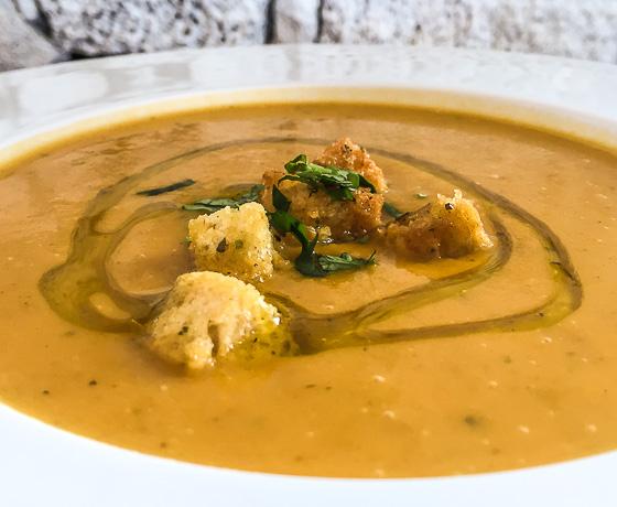 Fish soup on Pico Island