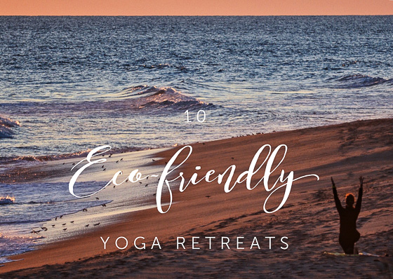 Yoga in the beach