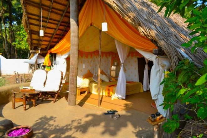 Eco friendly yoga retreat in India