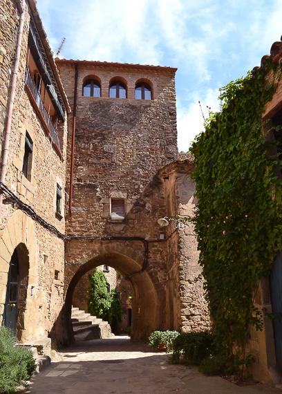 The medieval village of Madremanya