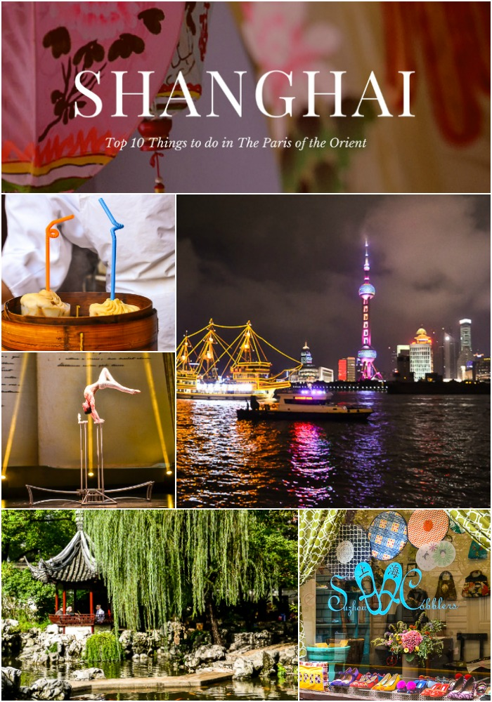 Top 10 things to do Shanghai Express