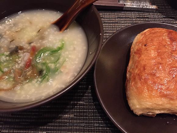 Congee breakfast food in china