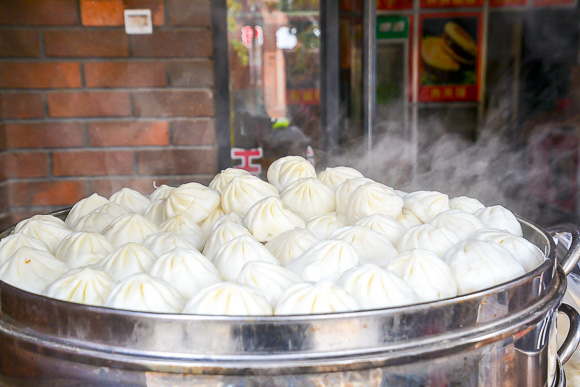 street food dumplings