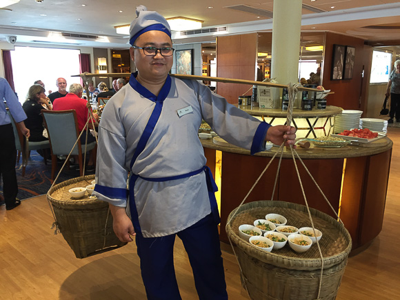 Theme dinner with Viking River Cruise