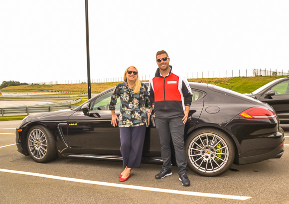 Porsche Experience Center Hybrid Panamera