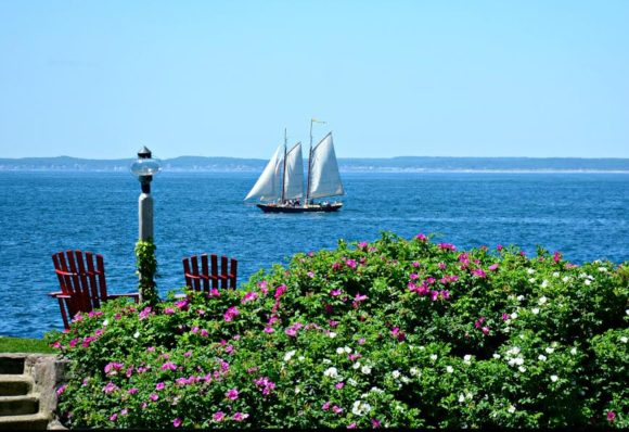 Schooner in Kennebunkport Launch maritime festival