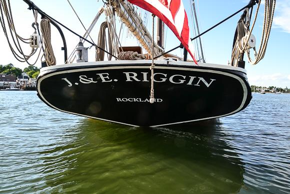 J. E. Riggin Maine Windjammer