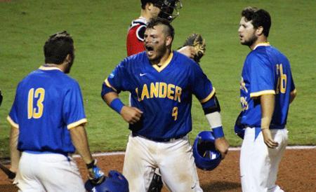 Lander Baseball advances