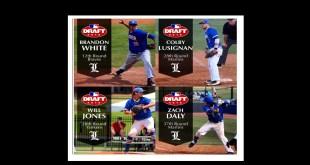 Four LU players head to MLB