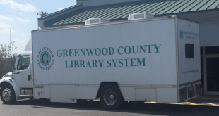 Greenwood Bookmobile Delivers