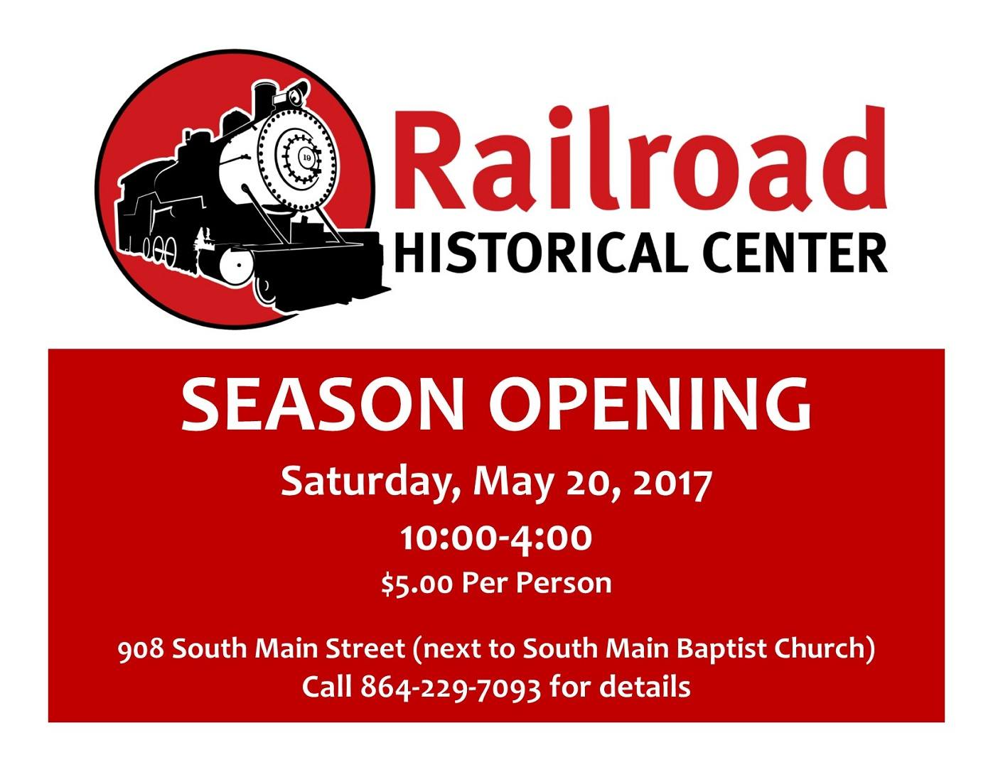Railroad Historical Center Season Opening