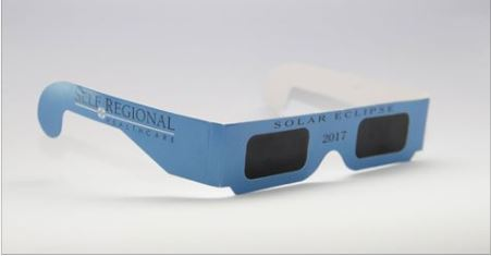 Self Regional Healthcare recalls eclipse glasses, Are your glasses safe?