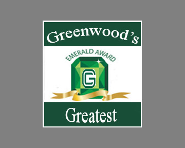 Officer Maddox Earns Greenwood's Greatest Emerald Award