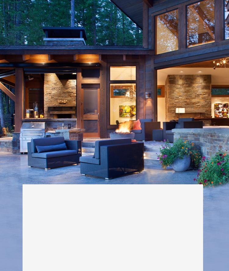 outdoor living masonry