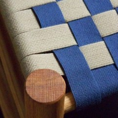 Navy Rocking Chair Metal Chairs Uk Seat Weaving | The Green Woodshop