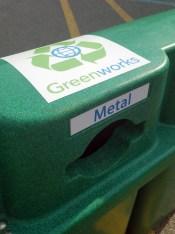 Greenworks Recycling Bin