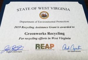Greenworks Recycling REAP Award