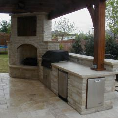 Cost To Build Outdoor Kitchen Pantry Organizers Backyard Fire Pits Kitchens Tri Cities Wa