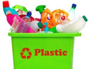 Экологический плакат Plastic