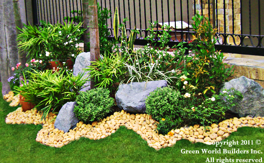 green world builders . landscaping