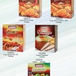Escalope, Falafel, Crispy Chicken, Crispy Fish, Escalope Hot