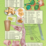 Frozen Vegetables, Pastry & Meat