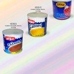 custard, Jelly, Domo
