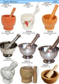 Garlic Mortars