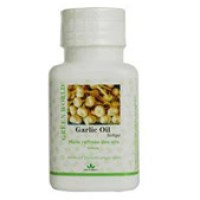 Green World Garlic Oil Softgel - The Natural Antibiotics
