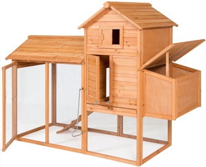 "Best Choice Products 80"" Wooden Chicken Coop Review"