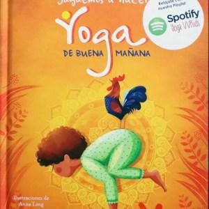 libro juguemos a hacer yoga de buena mañana