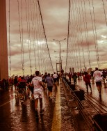 Istanbul Marathon 2009 - Crossing the bridge
