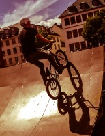 die BMX Künstler vom BMCC Mannheim