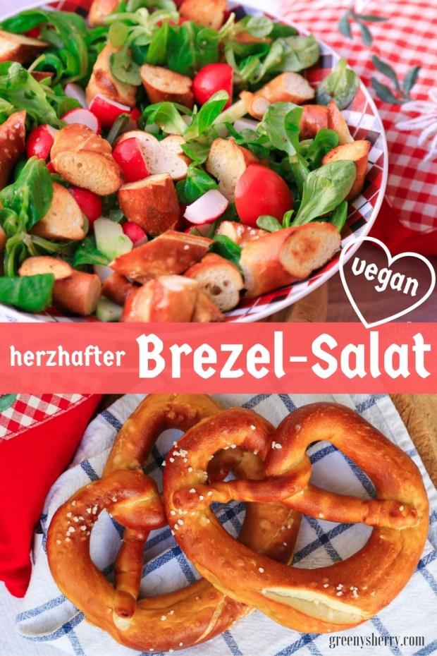 O'zapft is: Herzhafter Brezel-Salat à la Oktoberfest (vegan) www.greenysherry.com