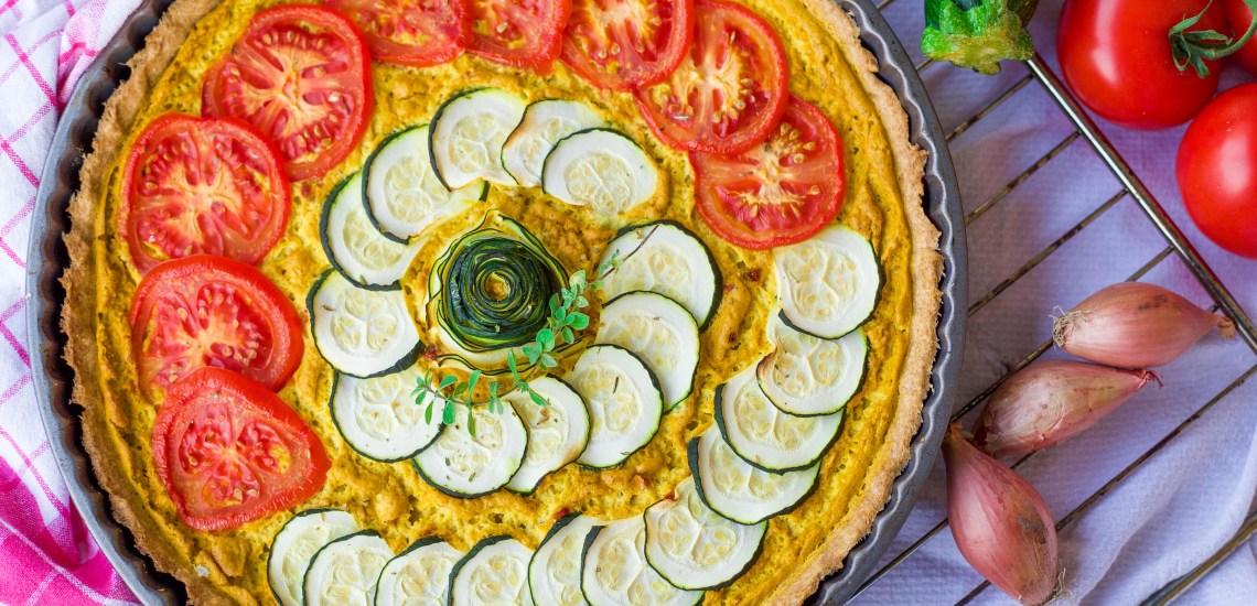 greenysherry.com Vegane Quiche Lorraine mit Gemüse