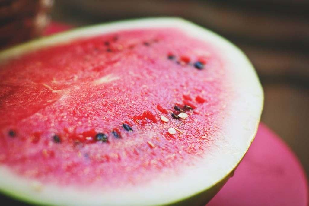 Wassermelonen Pizza - Gesunder Sommer Snack vegan www.greenysherry.com
