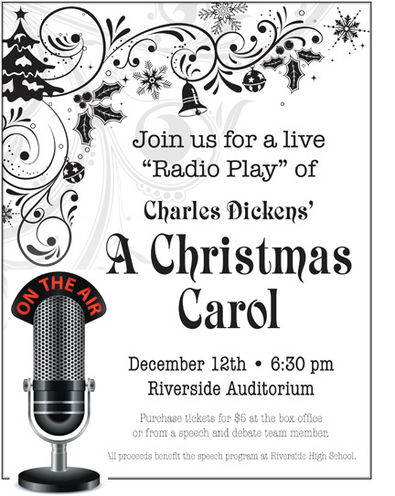 RHS debate team to host 'radio play' of 'A Christmas Carol