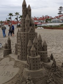 Castle In Sand Life Knew Crumbles And