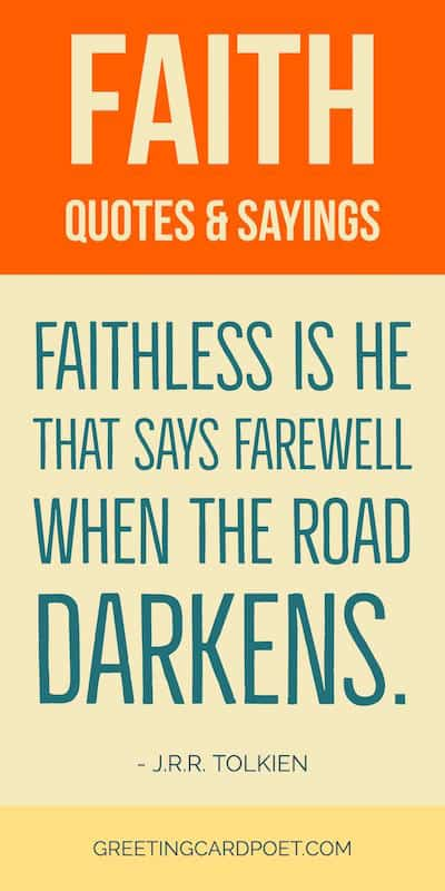 Sayings About Faith : sayings, about, faith, Quotes, About, Faith, Inspirational, Religious, Christian, Sayings
