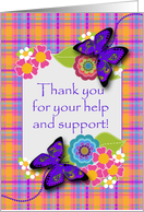 Thank You For All Your Help And Support : thank, support, Thank, Cards, During, Illness, Greeting, Universe
