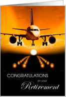 Flight Attendant Congratulations On Retirement Cards From