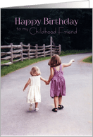 Childhood Friend Birthday : childhood, friend, birthday, Happy, Birthday, Childhood, Friend, Girls, Holding, Hands, On..., (1314760)