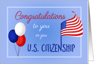 Congratulations on Becoming a US Citizen from Greeting
